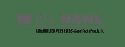 Logo P. U. Hanl Immobilienvertriebs GmbH