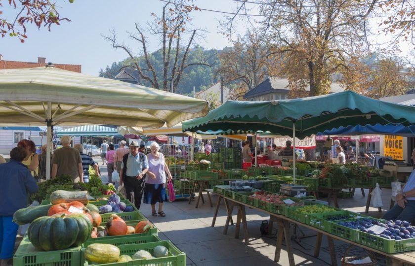 Bauernmarkt - Leben im Lend